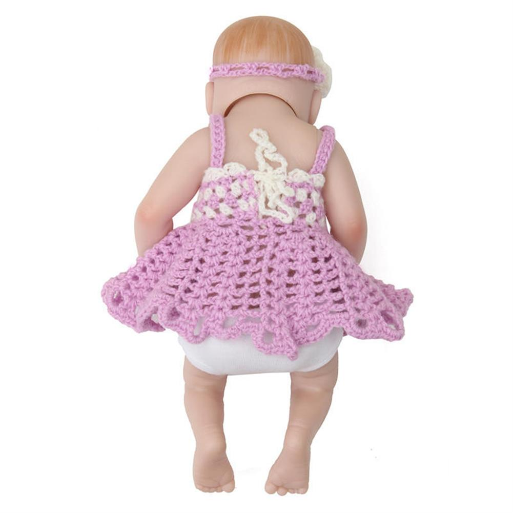 dolls-action-figure 11'' Reborn Doll Newborn Handmade Lifelike Soft Silicone Realistic Christmas Gifts HOB1407013 1