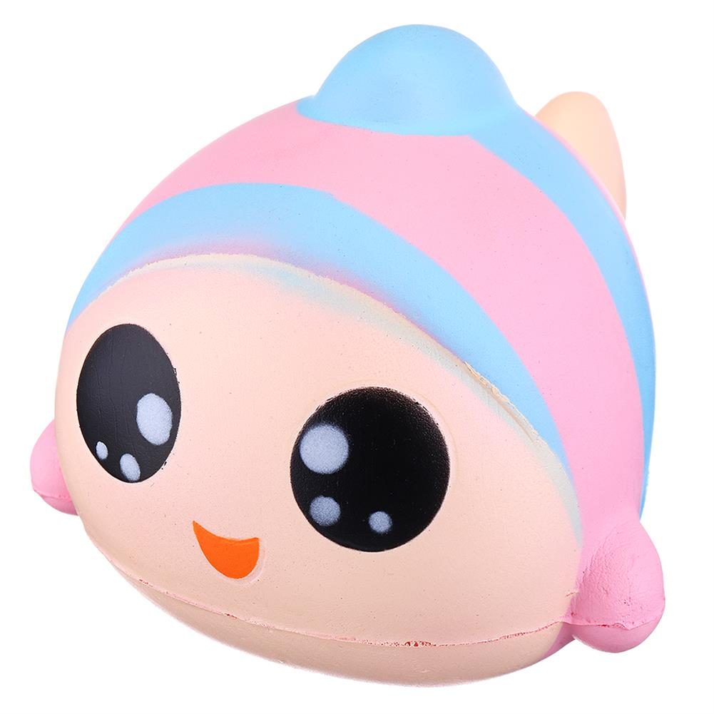 squishy-toys Sanqi Elan 13cm Rainbow Fish Squishy Slow Rising Toy with Original Packing HOB1407973 1