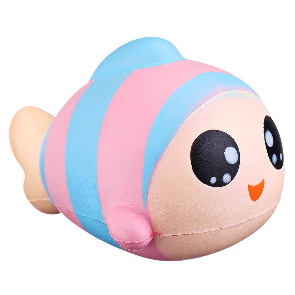 squishy-toys Sanqi Elan 13cm Rainbow Fish Squishy Slow Rising Toy with Original Packing HOB1407973 3
