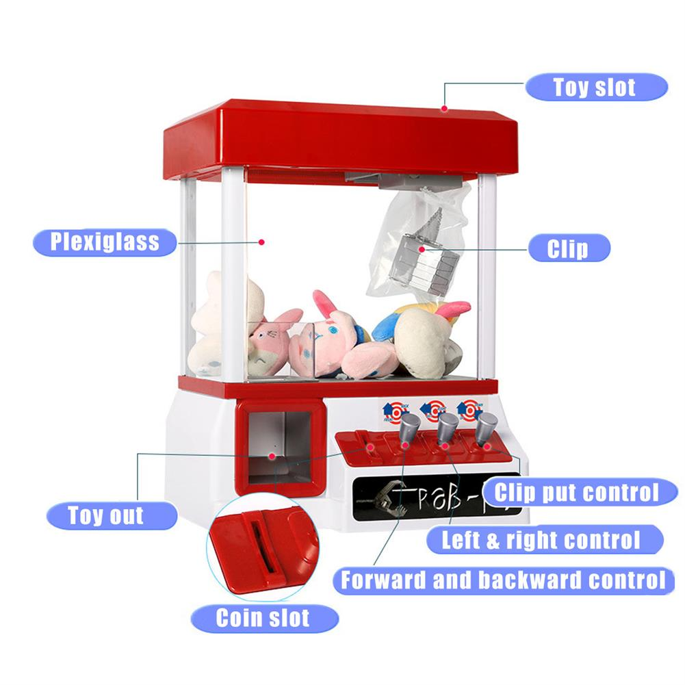 puzzle-game-toys Carnival Style Vending Arcade Claw Candy Grabber Reacher Prize Machine Game Kids Toys HOB1408495 2
