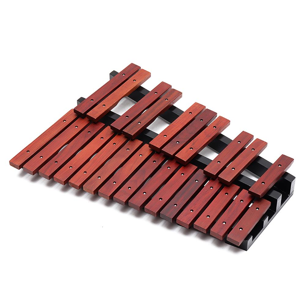 folk-world-percussion 25 Notes Wooden Xylophone Percussion Educational Gift with 2 Mallets HOB1409054 1