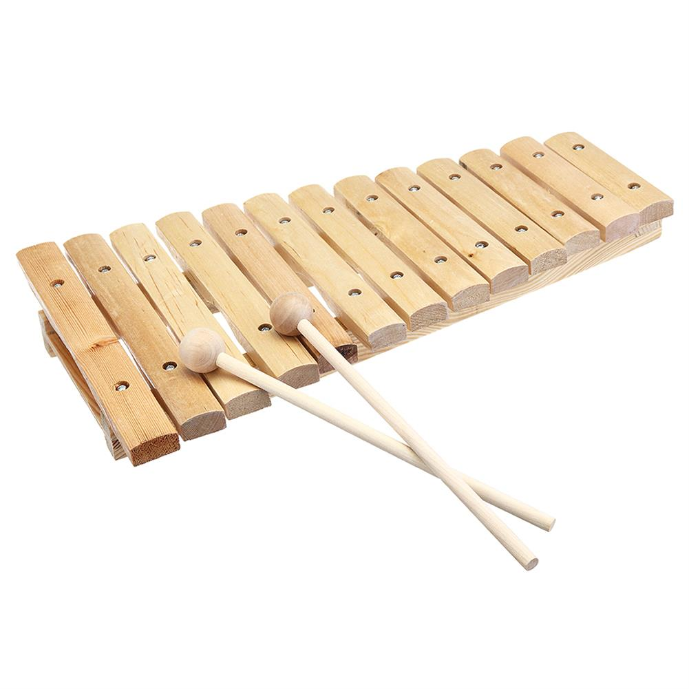 folk-world-percussion 13 Tone Wooden Xylophone Musical Piano instrument for Children Kid HOB1409055 1