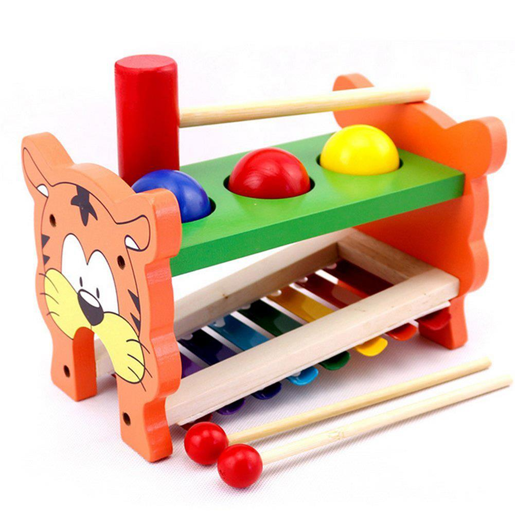 orff-instruments 2 in 1 Wooden Tap Xylophone Education Musical instruments for Children HOB1414121