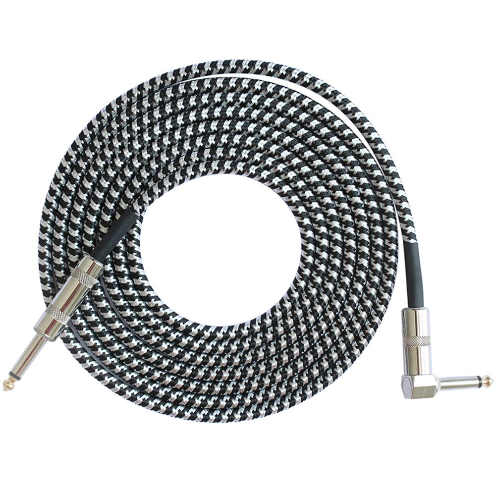 guitar-accessories FLGW-24 3m Guitar Cable 6.5mm Jack Audio Cable for Guitar Mixer Amplifier Bass HOB1417140