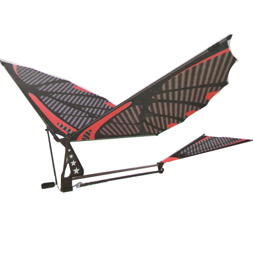plane-parachute-toys 18inches Eagle Carbon Fiber Birds Assembly Flapping Wing Flight DIY Model Aircraft Plane Toy with Box HOB1425344