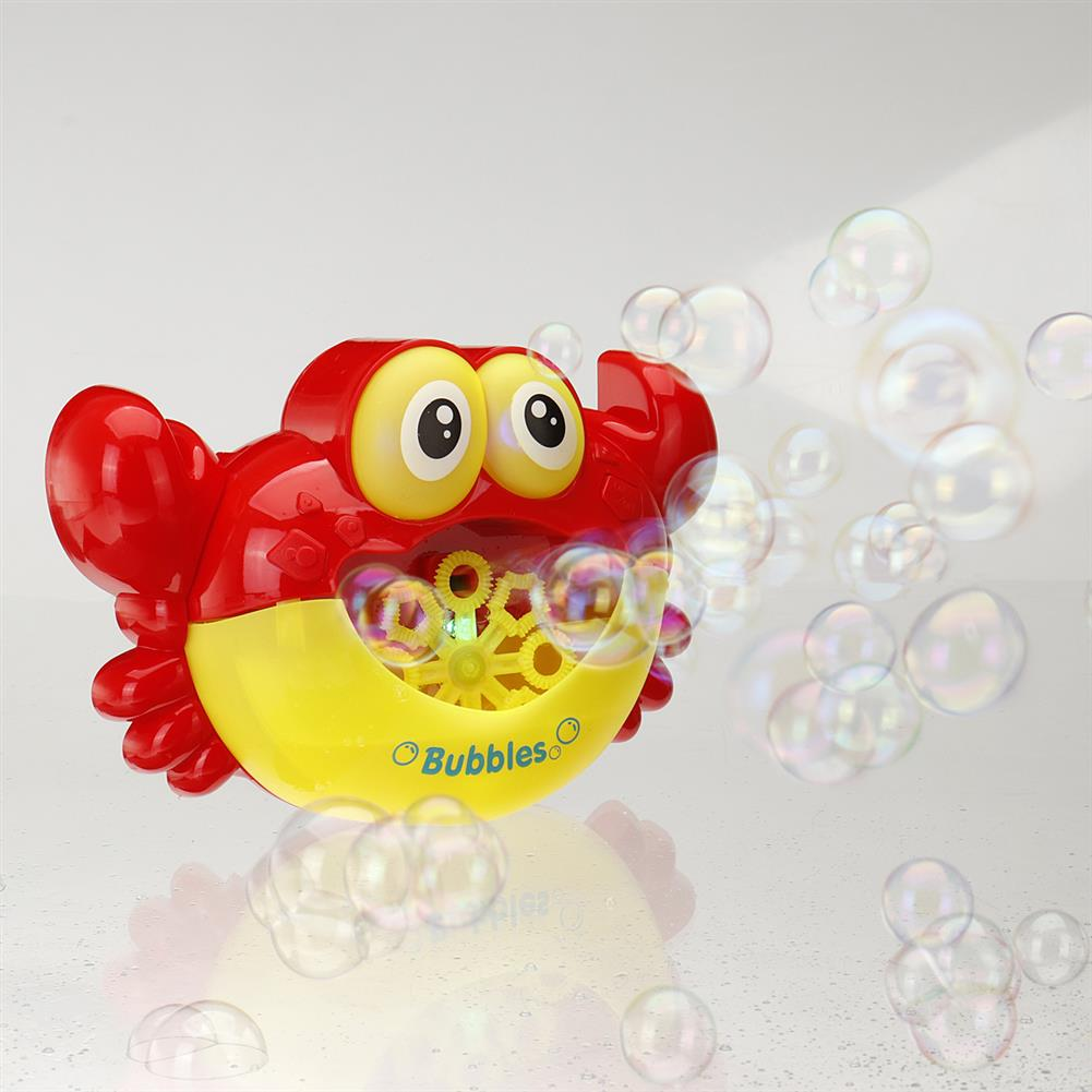 puzzle-game-toys Crab Music Bubble Machine Bubble Maker Machine Bubble Blower Science Toys HOB1425567