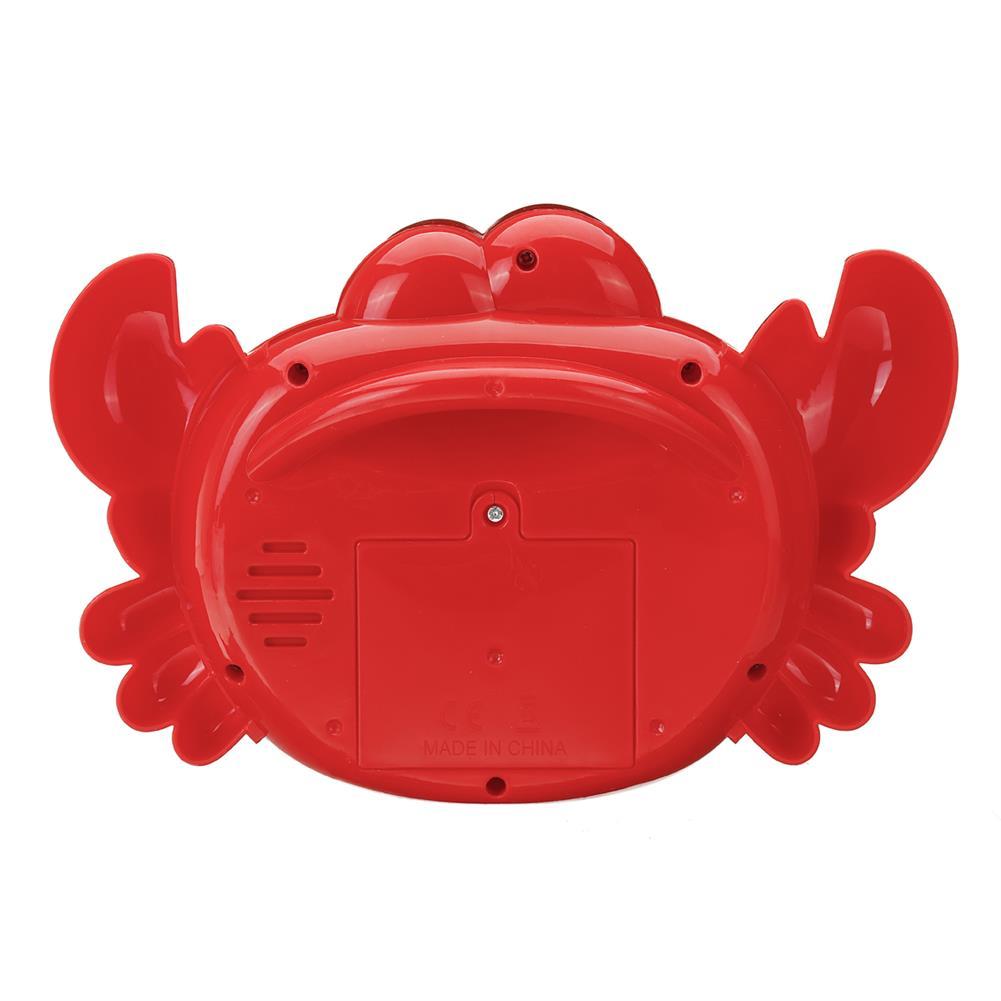 puzzle-game-toys Crab Music Bubble Machine Bubble Maker Machine Bubble Blower Science Toys HOB1425567 2