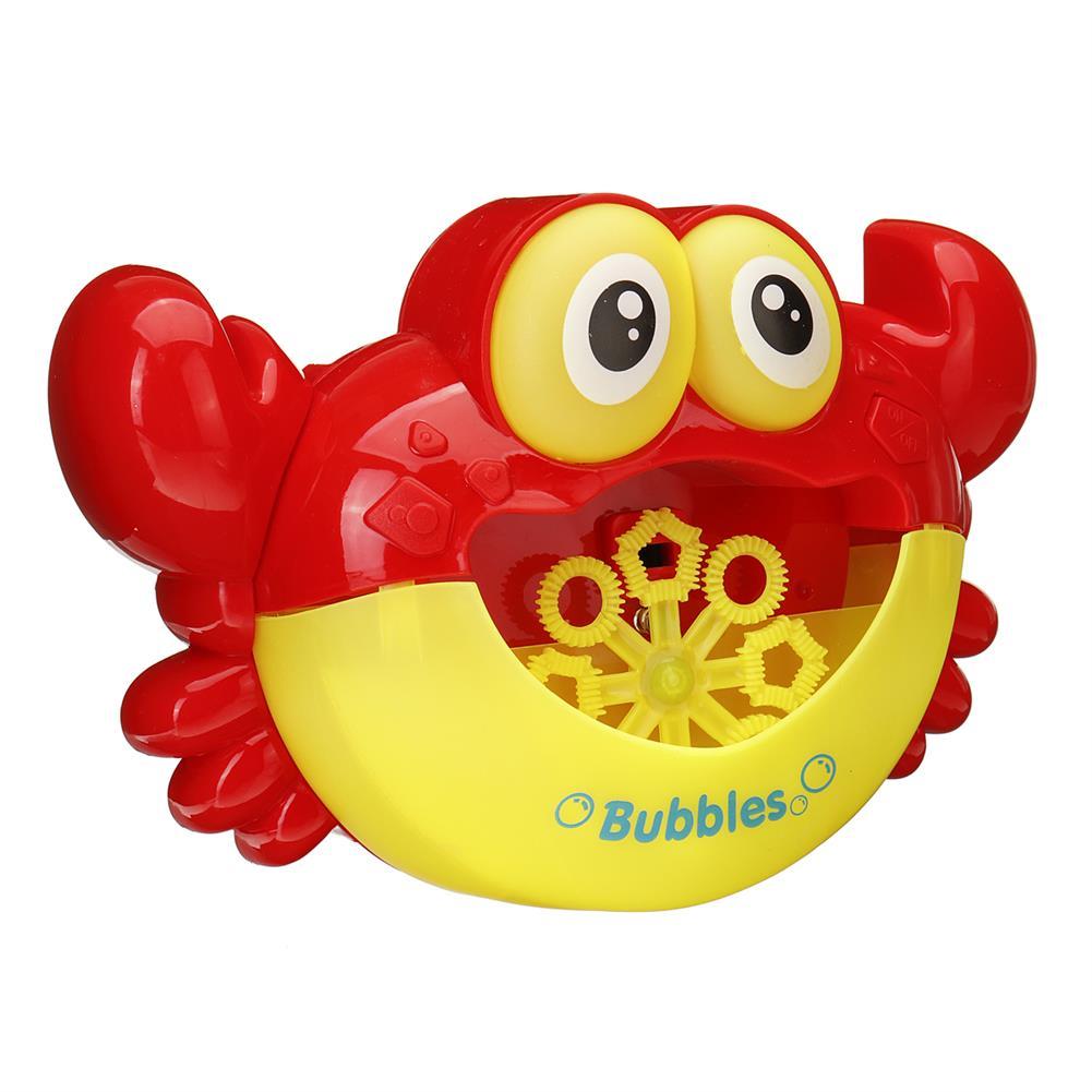 puzzle-game-toys Crab Music Bubble Machine Bubble Maker Machine Bubble Blower Science Toys HOB1425567 3