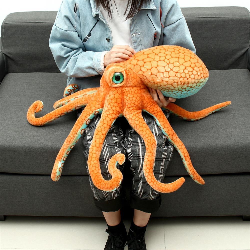 stuffed-plush-toys 80CM Huge Funny Cute Octopus Squid Stuffed Animal Soft Plush Toy Doll Pillow Gift HOB1426287