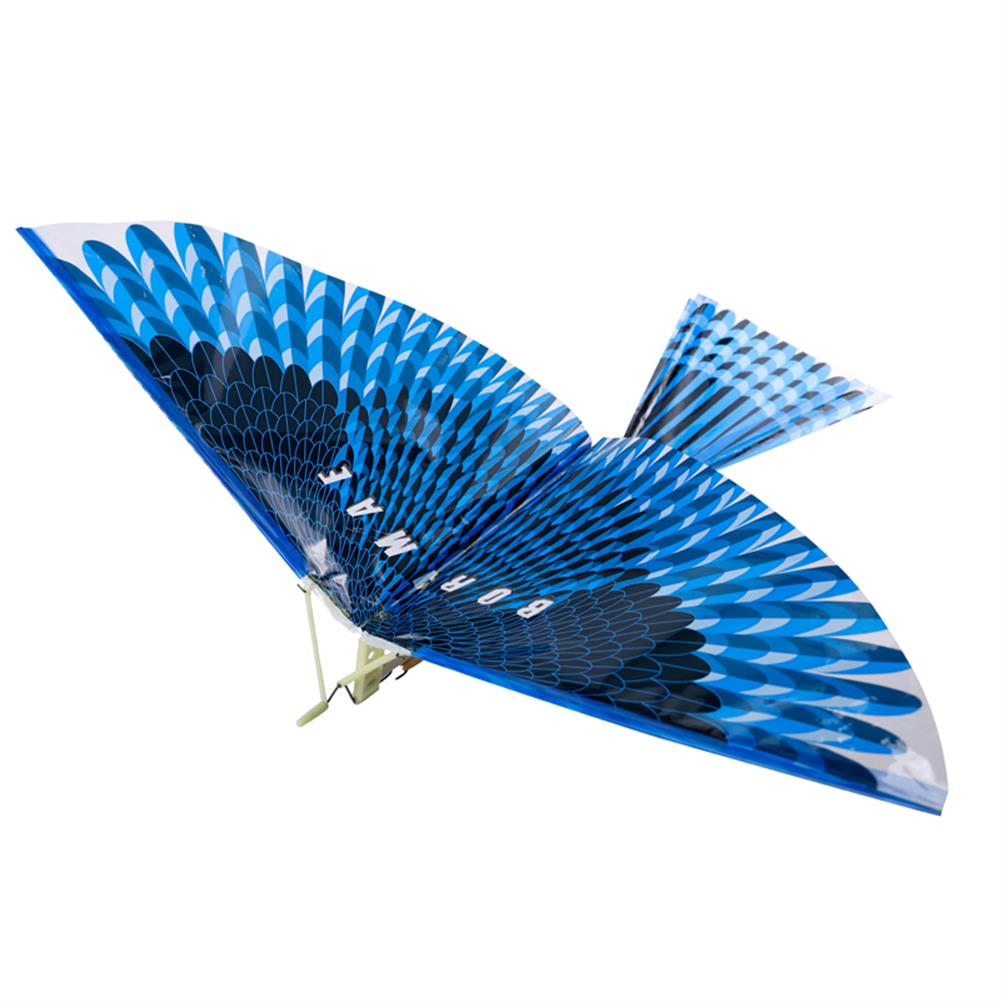 plane-parachute-toys 17.5inches Bionics Eagle Flight Birds Assembly Flapping Wing DIY Model Aircraft Plane Toy HOB1432308 1