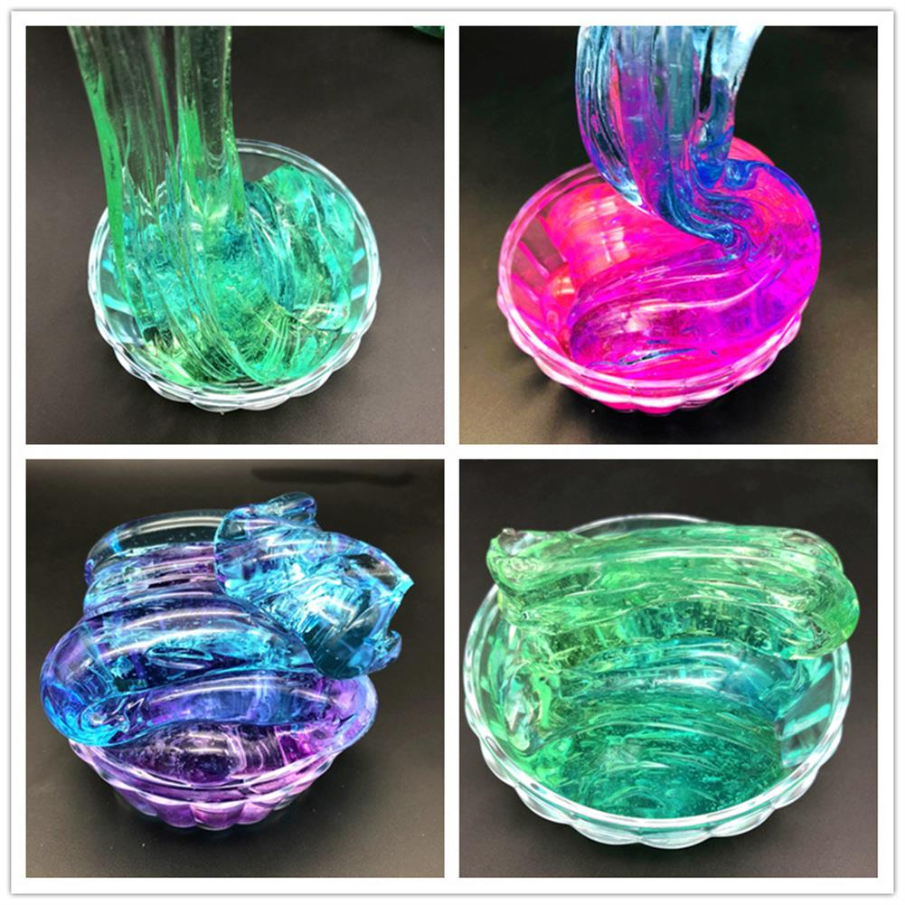 pottery-clay-tools 120ML Multi-color Slime Crystal Decompression Mud DIY Gift Toy Stress Reliever HOB1437956