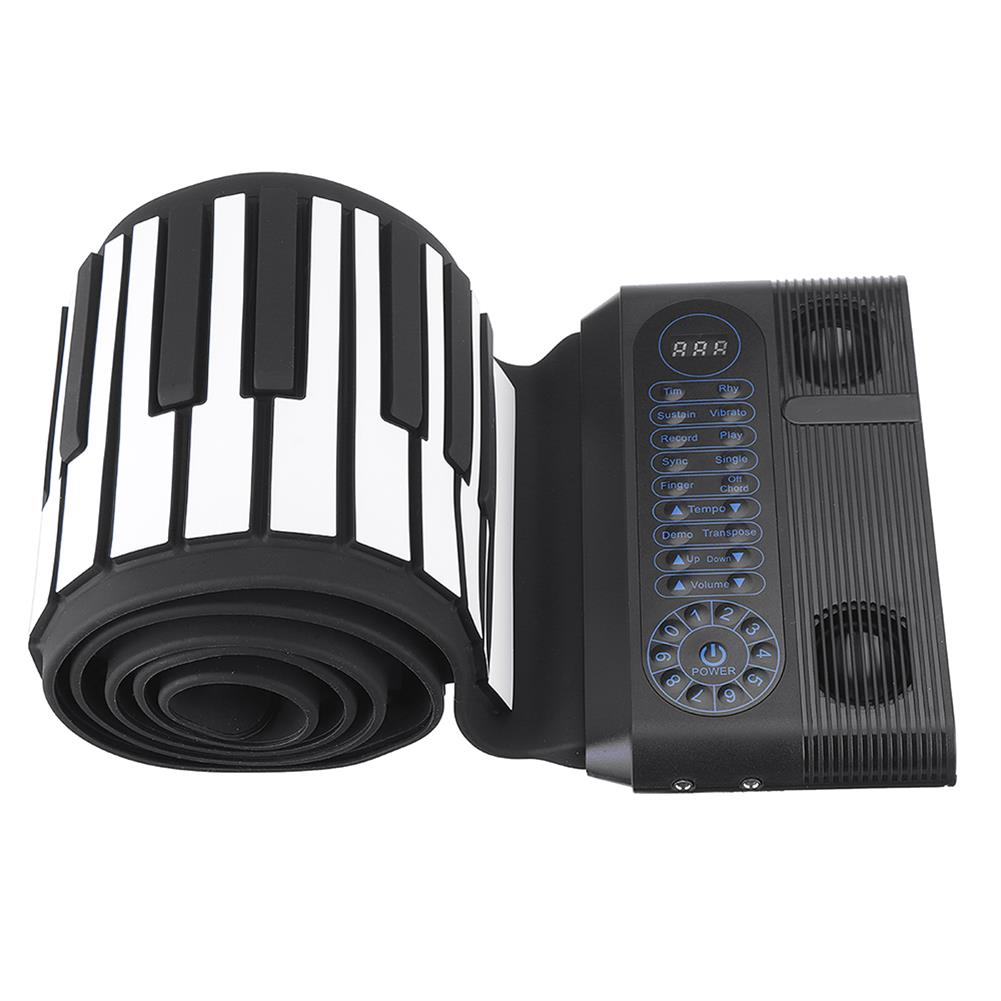 roll-up-piano Iword S3088 88 Keys Professional Hand Roll Up Keyboard Piano Built in Dual Speakers HOB1439301 2