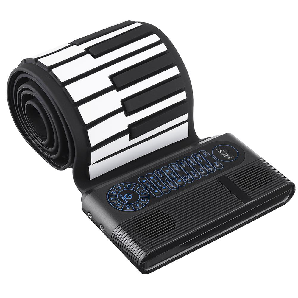roll-up-piano Iword S3088 88 Keys Professional Hand Roll Up Keyboard Piano Built in Dual Speakers HOB1439301 3