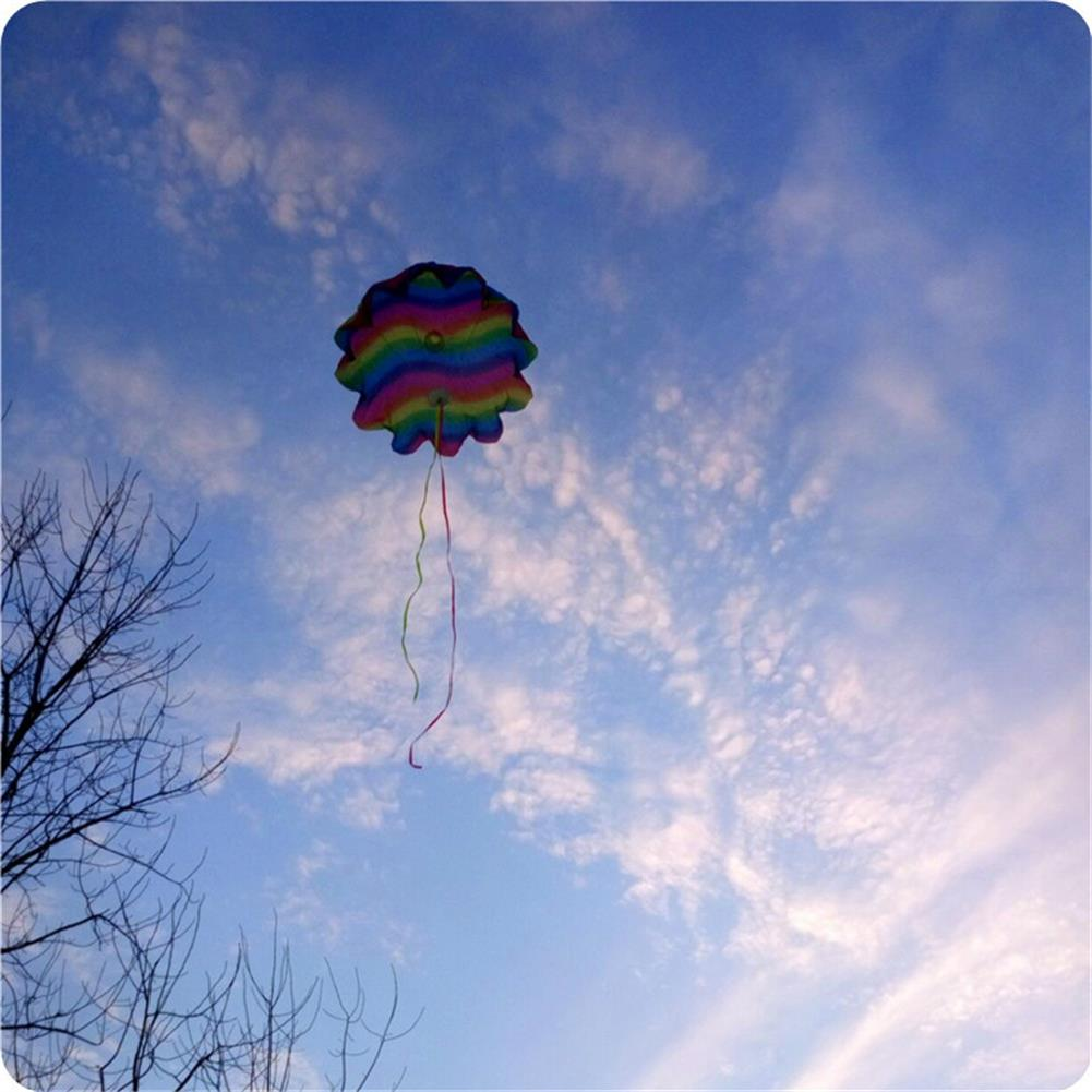 plane-parachute-toys 27.5 inches Parachute Toy Kite Outdoor Play Hand Throw Free Fall Toy HOB1440121