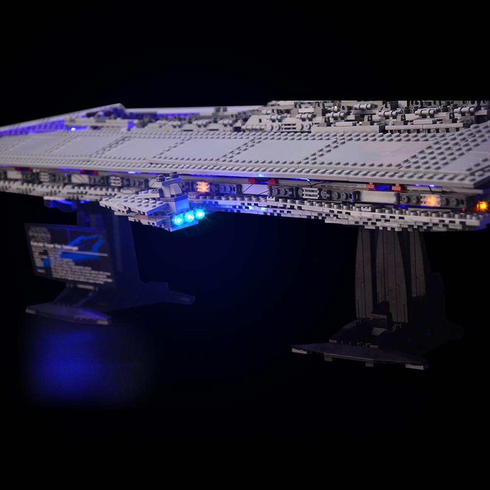 blocks-track-toys LED Light Kit for Lego 10221 Star Wars Super Star Destroyer Building Model Blocks Toys HOB1442838 1