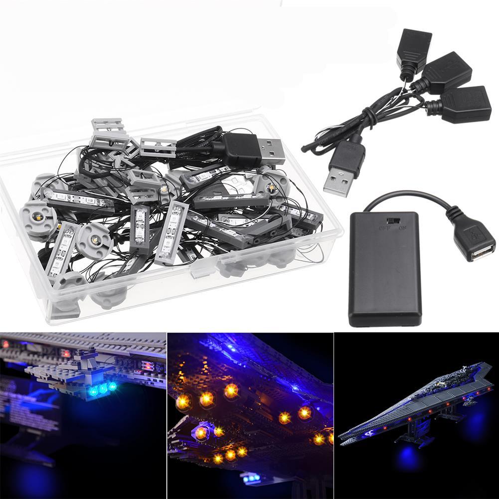 blocks-track-toys LED Light Kit for Lego 10221 Star Wars Super Star Destroyer Building Model Blocks Toys HOB1442838 2
