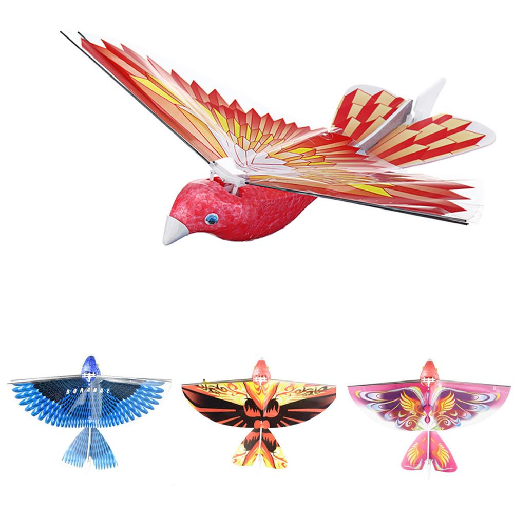 plane-parachute-toys 10.6inches Electric Flying Flapping Wing Bird Toy Rechargeable Plane Toy Kids Outdoor Fly Toy HOB1445799