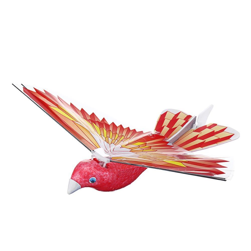 plane-parachute-toys 10.6inches Electric Flying Flapping Wing Bird Toy Rechargeable Plane Toy Kids Outdoor Fly Toy HOB1445799 1