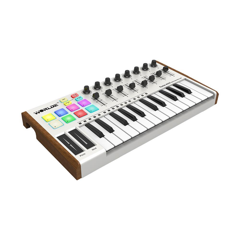 midi-controllers WORLDE TUNA MINI Ultra Portable 25 Keys USB Keyboard MIDI Controller HOB1452042 1
