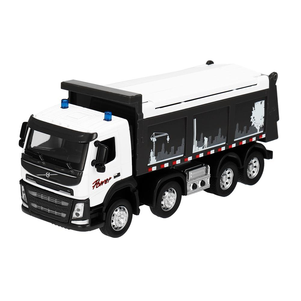 diecasts-model-toys Engineering Car Sound & Light 1:50 Scale Diecast Model Dump Truck Toy HOB1455901 1