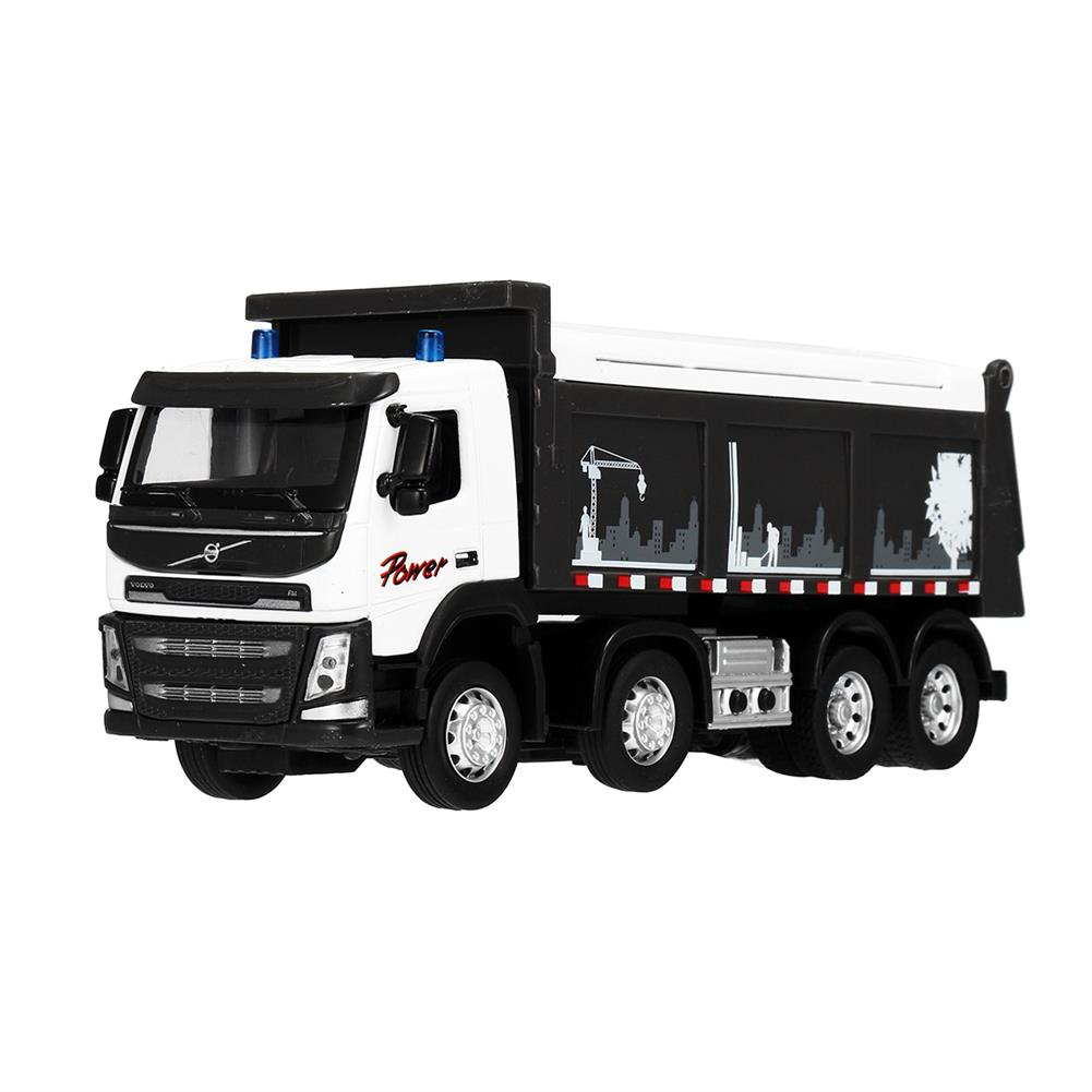 diecasts-model-toys Engineering Car Sound & Light 1:50 Scale Diecast Model Dump Truck Toy HOB1455901 2