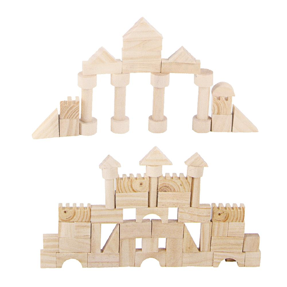 puzzle-game-toys 162Pcs Wooden Blocks Educational Child Play Learning Classic Jigsaw Puzzle Toy HOB1458421