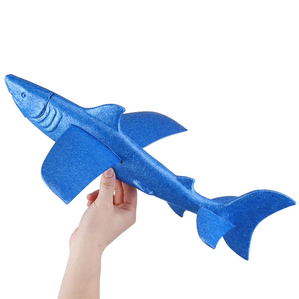plane-parachute-toys 18inches Foam EPP Hand Launch Throwing Aircraft Airplane Glider DIY Plane Toy HOB1458489
