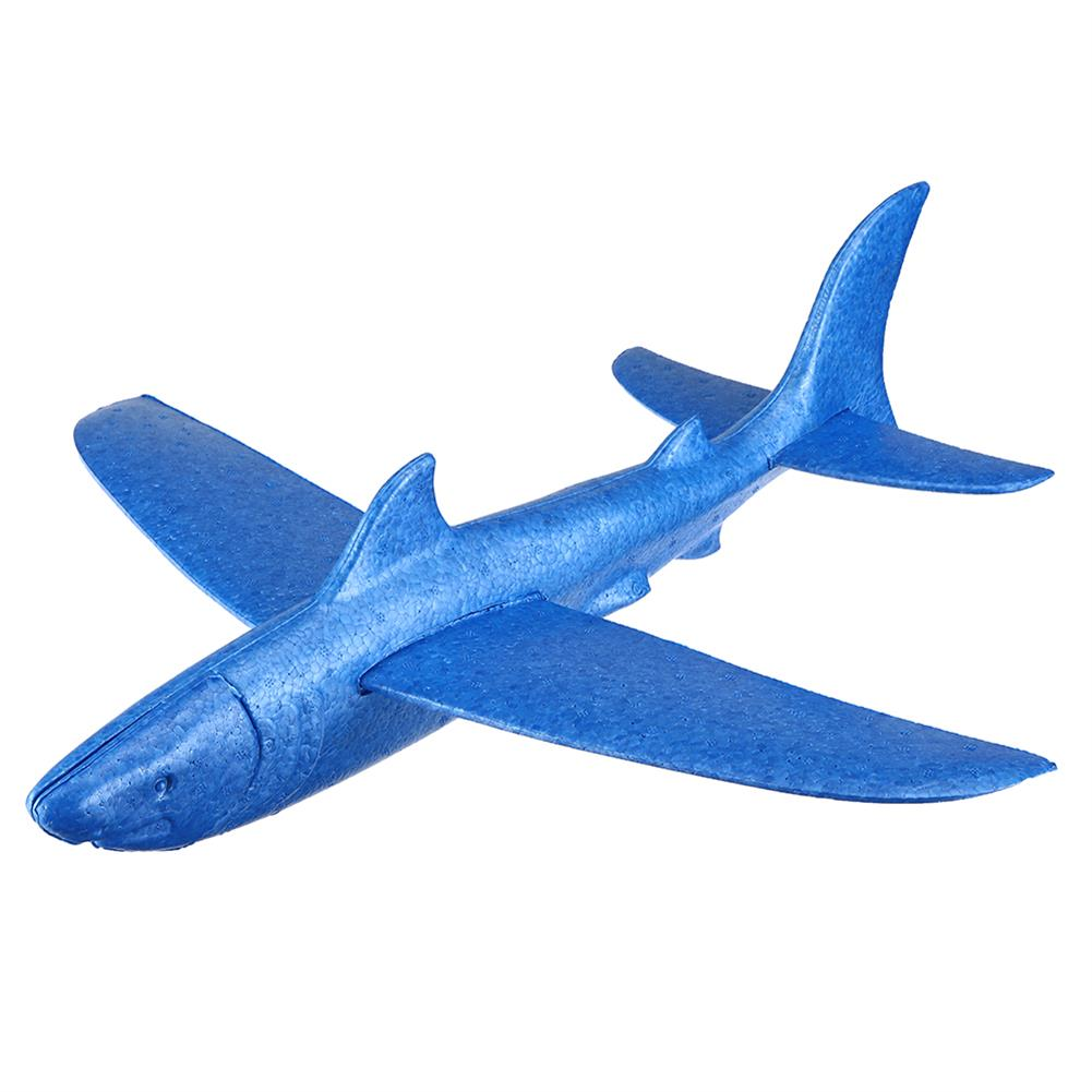 plane-parachute-toys 18inches Foam EPP Hand Launch Throwing Aircraft Airplane Glider DIY Plane Toy HOB1458489 1
