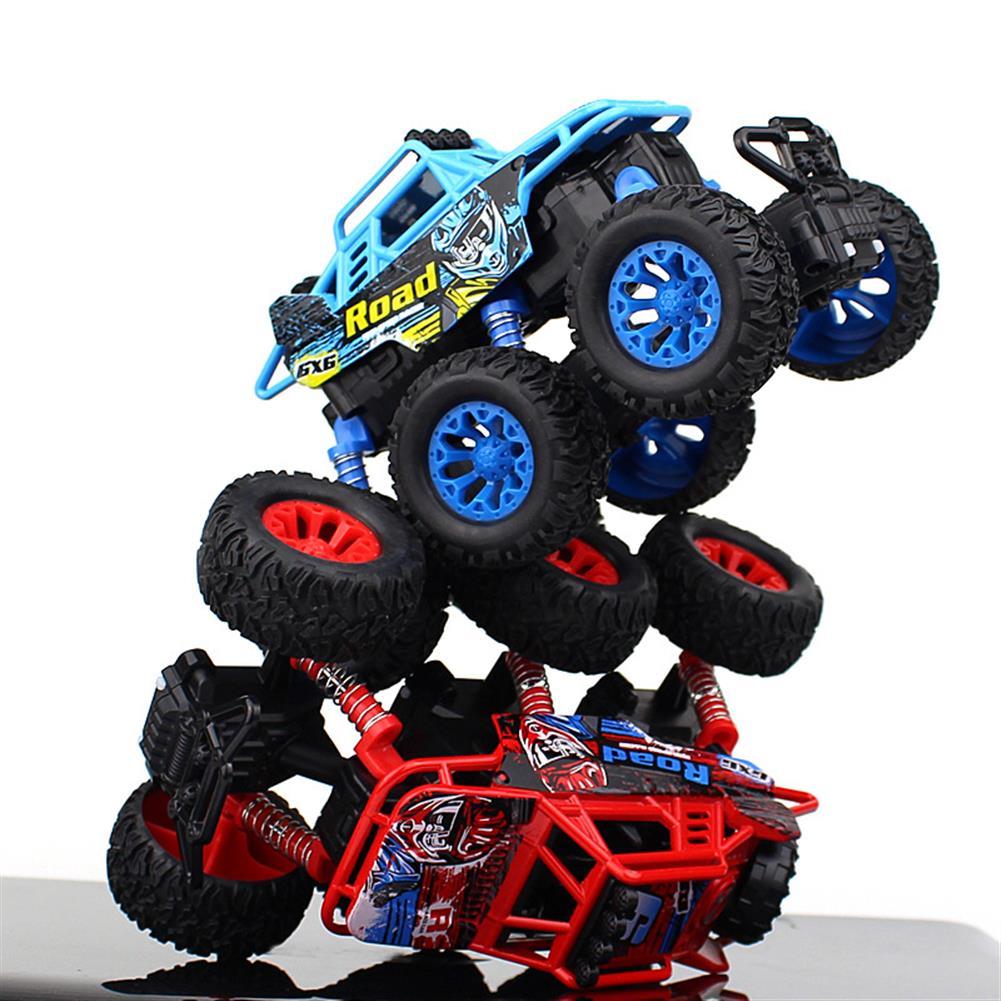 novelties 6 Bigfoot Wheel Pull Back Climbing Car Model Shockproof Car Sound Light Version Novelties Toys with Free Gift HOB1460194 1