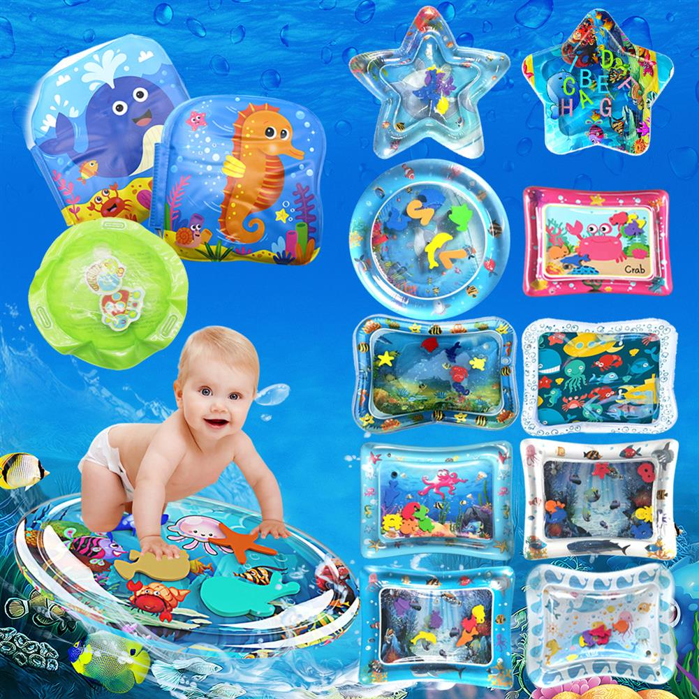 inflatable-toys inflatable Toys Water Play Mat infants Baby Toddlers Perfect Fun Tummy Time Play HOB1463063