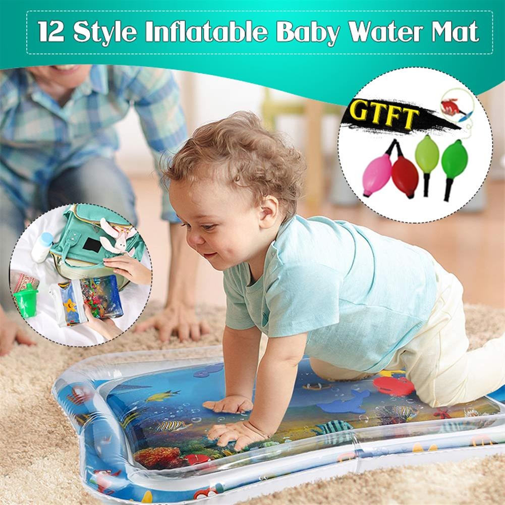 inflatable-toys inflatable Toys Water Play Mat infants Baby Toddlers Perfect Fun Tummy Time Play HOB1463063 1