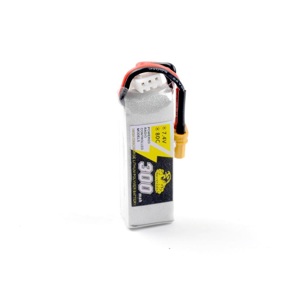 battery-charger Skystars 300mAh 7.4V 80C 2S Lipo battery XT30 Plug for Whoop Mobula7 Beta75x TinyFrog 75x RC Drone HOB1463857 2