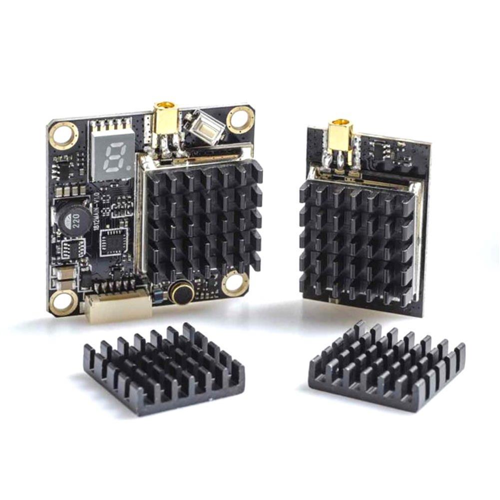 fpv-system 1 Piece AKK Black Aluminum Heatsink Kit for AKK X2-ultimat.e / FX2-ultimat.e / X2 / X2P / FX2 / TX1200 FPV Transmitter HOB1466306