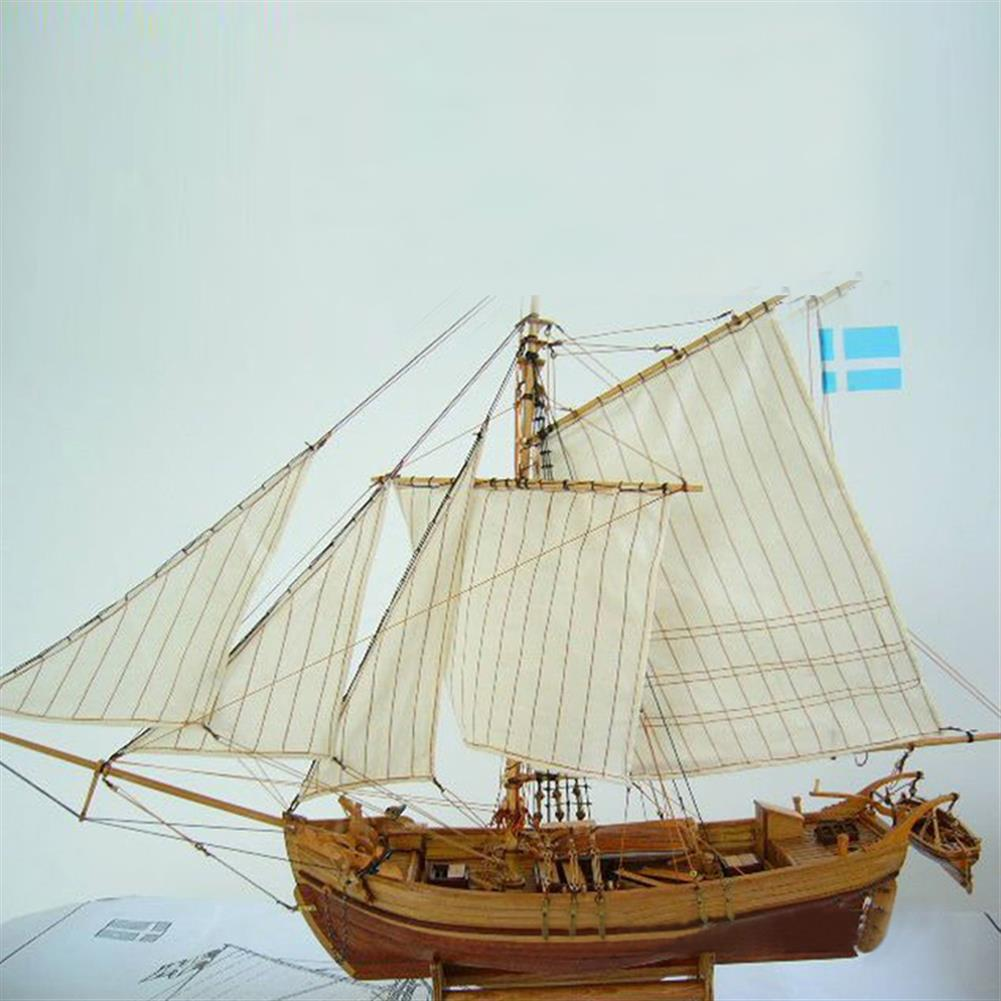 diecasts-model-toys Wooden Assembly Ship Model Building DIY Fishing Boat Laser Decoration Kits Toy Gift HOB1471384