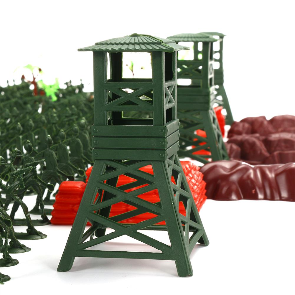 model-building 300Pcs Soldier Military Plane T ank Model Movable Joints Toys Boys Kids Gift HOB1473060 3