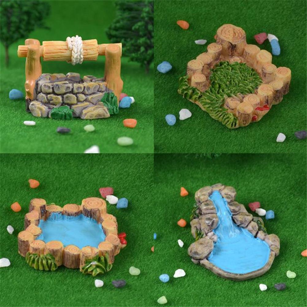 model-building 5Pcs DIY Resin Craft Antique Imitation Fairy Garden Home Miniature Decorations Micro Landscape HOB1475629 1