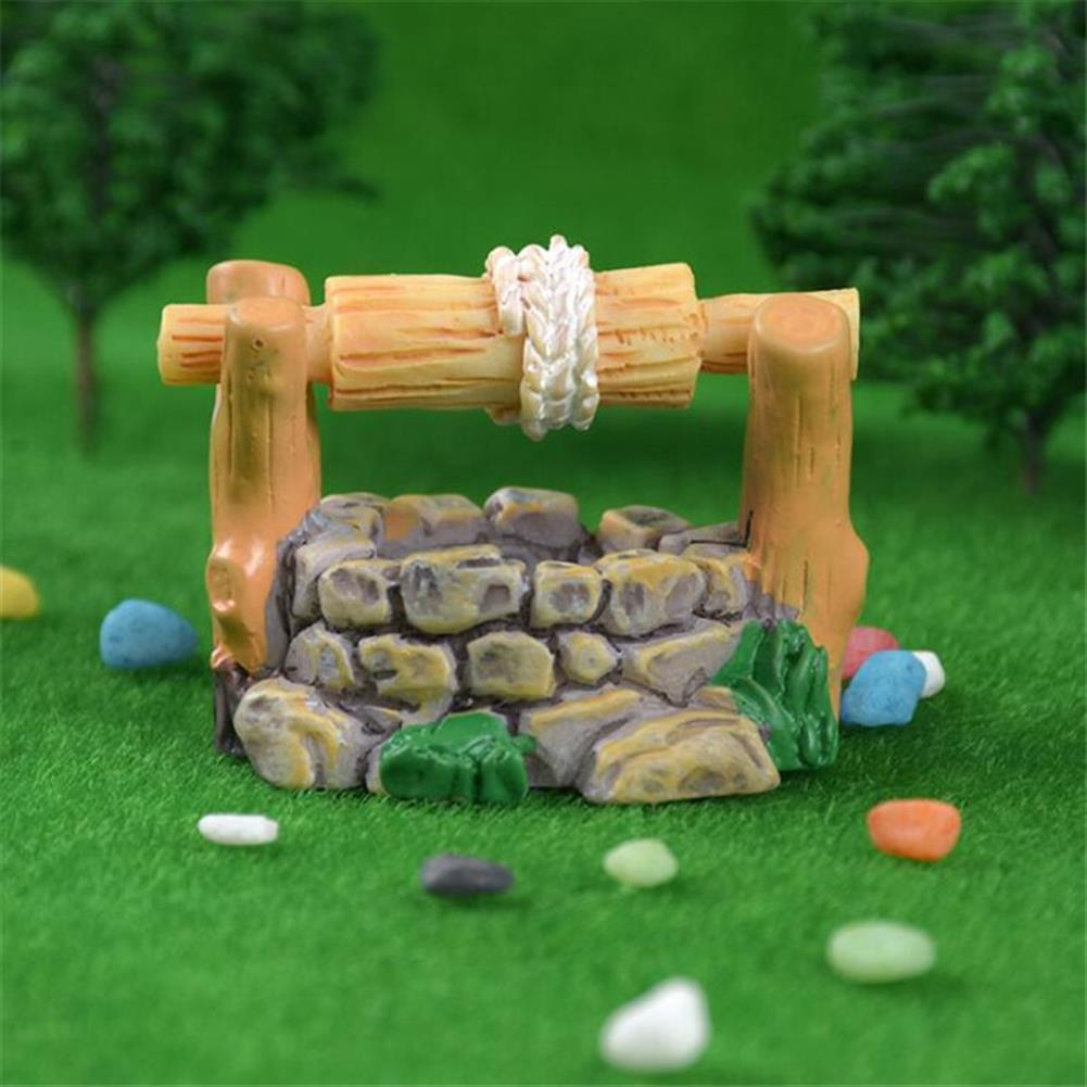 model-building 5Pcs DIY Resin Craft Antique Imitation Fairy Garden Home Miniature Decorations Micro Landscape HOB1475629 2