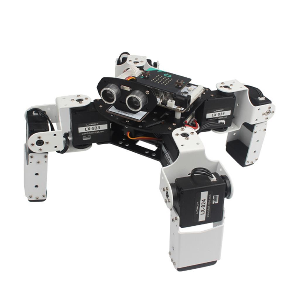 smart-robot LOBOT Alienbot Micro:bit Programmable Multifunctional PC/APP Control Smart RC Robot HOB1476889