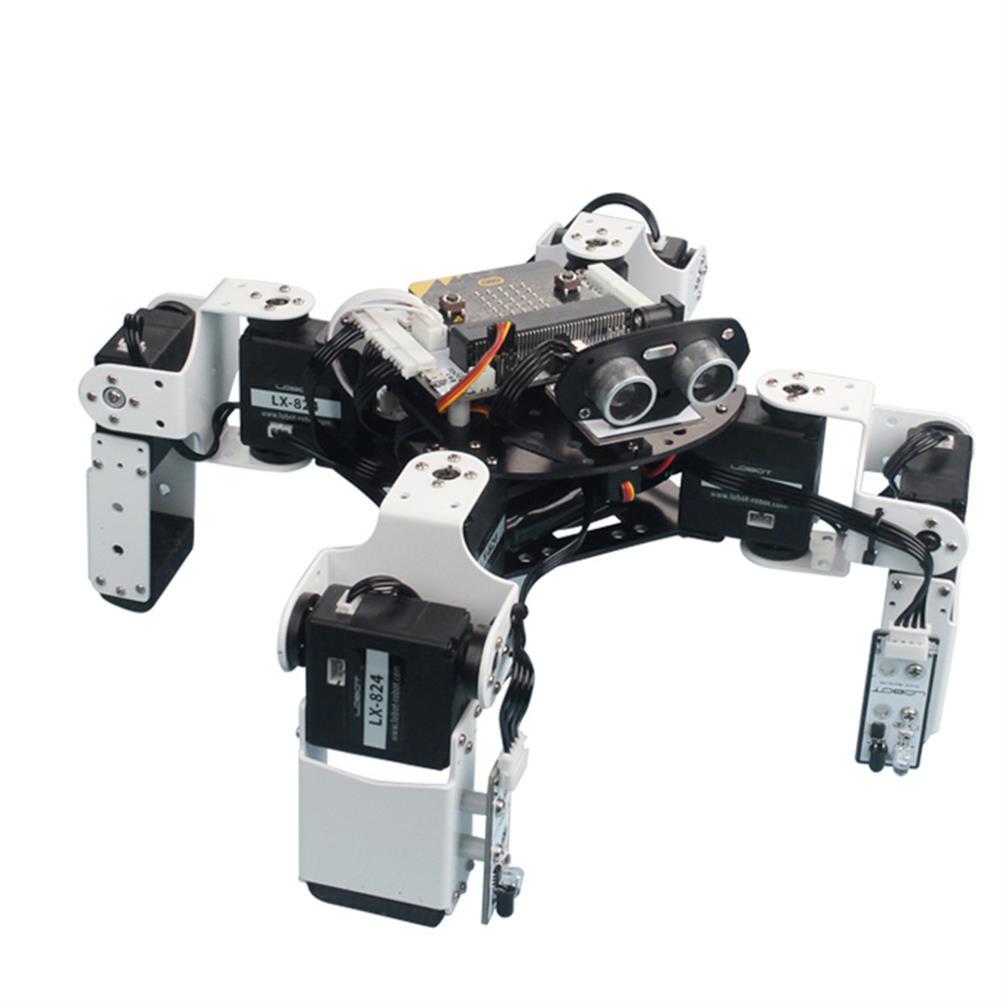 smart-robot LOBOT Alienbot Micro:bit Programmable Multifunctional PC/APP Control Smart RC Robot HOB1476889 1