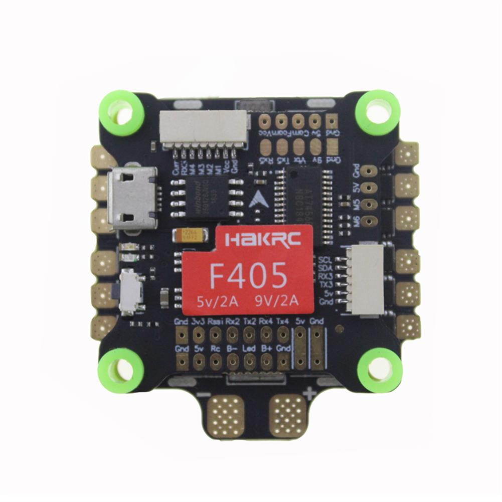 multi-rotor-parts HAKRC Flytower F405 30.5x30.5mm & 50A 4IN1 3-6S ESC for RC Drone HOB1481003