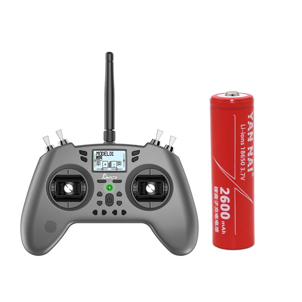 radios-receiver 1 PC 3.7V 2600mAh 18650 Li-ion Battery for Jumper T-Lite FrSky X9 Lite Radio Transmitter HOB1483307