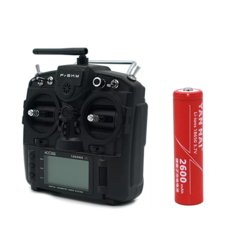 radios-receiver 1 PC 3.7V 2600mAh 18650 Li-ion Battery for Jumper T-Lite FrSky X9 Lite Radio Transmitter HOB1483307 1
