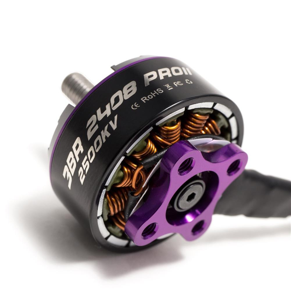 multi-rotor-parts 3BHOBBY Racing Motor 2408 PROII KV1900/2500 6S/4S Brushless Motor for FPV RC Drone HOB1483984 2