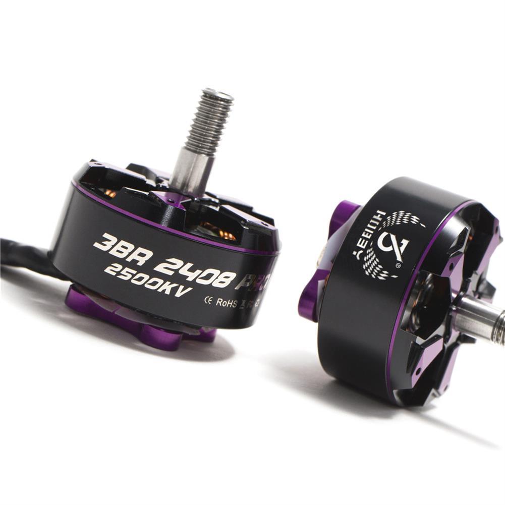 multi-rotor-parts 3BHOBBY Racing Motor 2408 PROII KV1900/2500 6S/4S Brushless Motor for FPV RC Drone HOB1483984 3