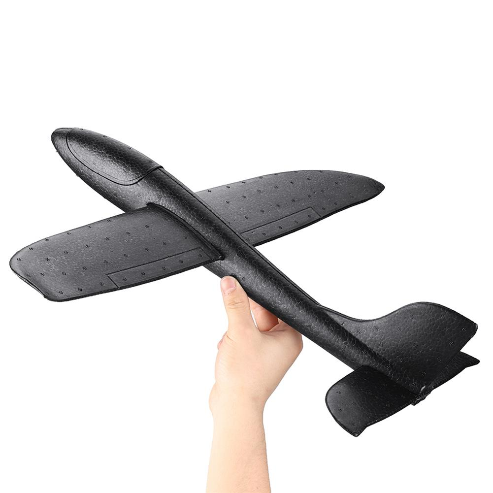 plane-parachute-toys 19inches Big Size Hand Launch Throwing Aircraft Airplane DIY inertial Foam EPP Plane Toy HOB1489666