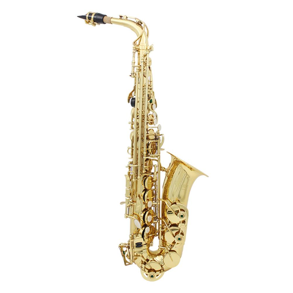 saxophone SLADE LD-896 E-flat Brass Pipe Alto Saxophone with Bag Clean Tools HOB1499313 1