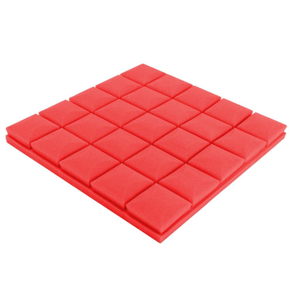 general-accessories 4Pcs 30x30x5cm Soundproof Foam Sound Absorbing Sponge for Piano Room Drum Studio HOB1500006