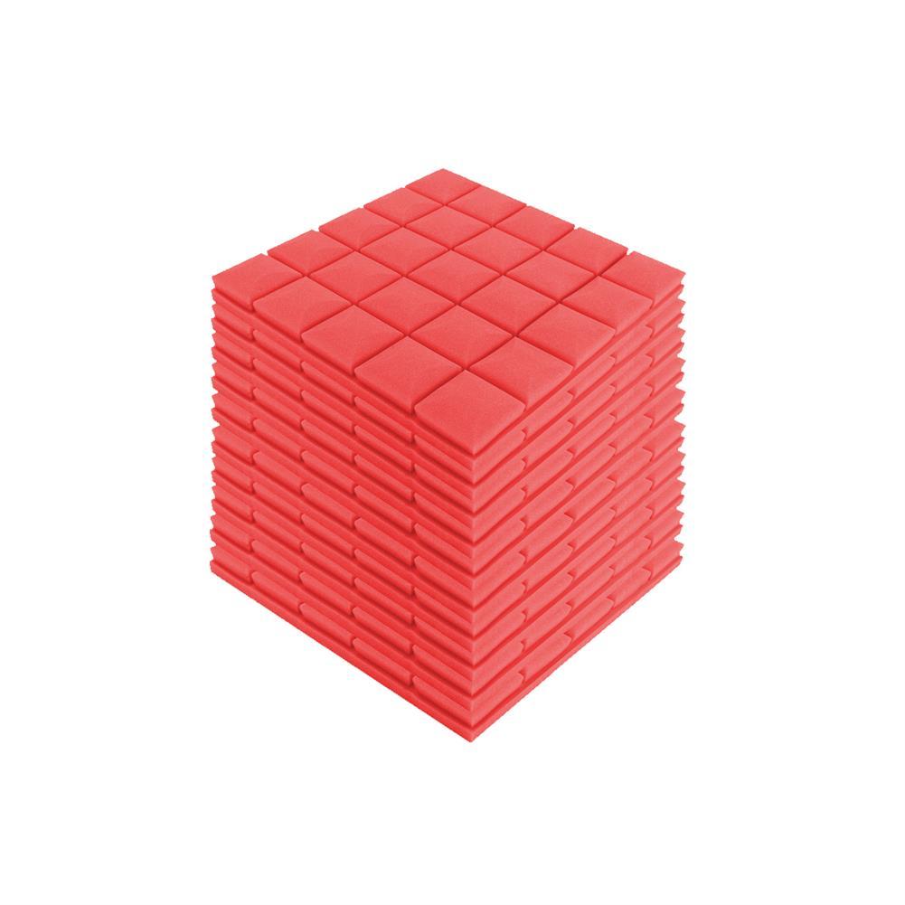 general-accessories 4Pcs 30x30x5cm Soundproof Foam Sound Absorbing Sponge for Piano Room Drum Studio HOB1500006 1