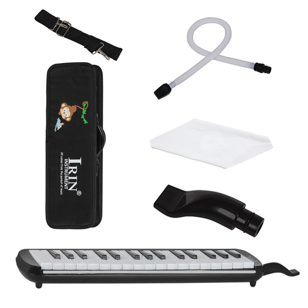 melodica IRIN 32 keys Multicolor Black And White Keys Melodica with Hard Box HOB1500596 1