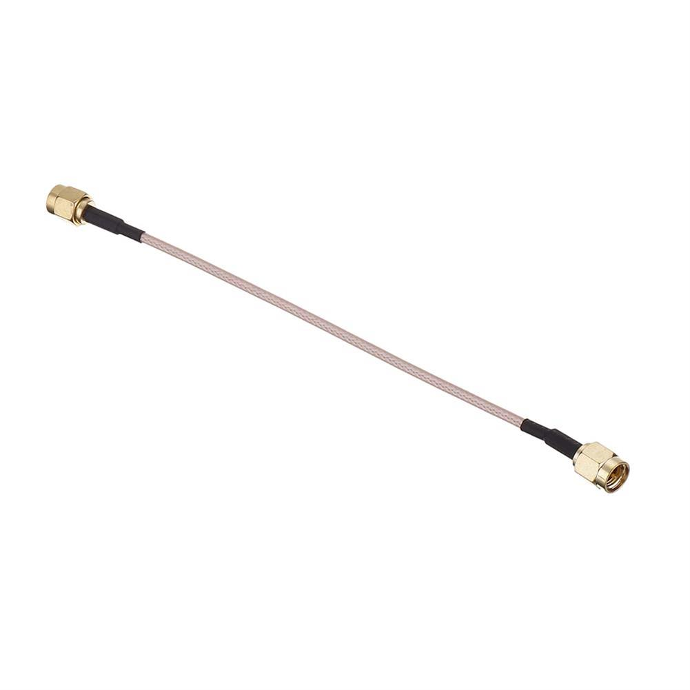 fpv-system RJXHOBBY RG316 Wire Jumper Cable 15cm SMA Male to SMA Male with Connecting Line RF Coaxial Coax Cable Antenna Extender Cable Adapter Jumper HOB1504350 3
